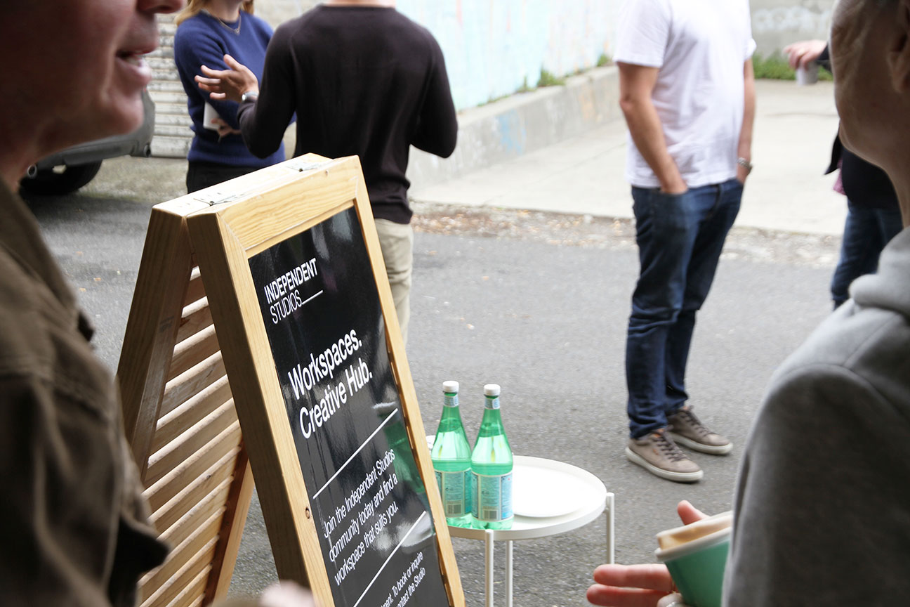 Order catering or coffee from your desk at Independent Studios Prahran